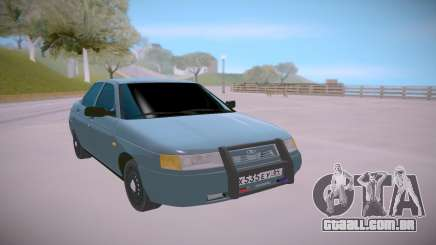 Lada 2110 Azul para GTA San Andreas
