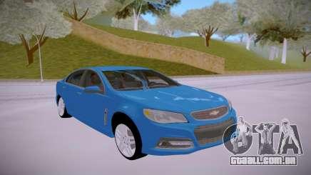 Chevrolet SS 2014 para GTA San Andreas