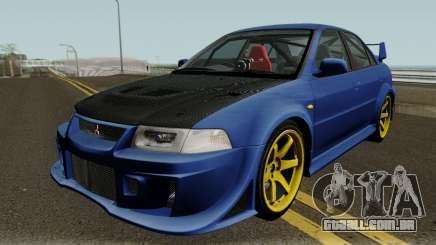 Mitsubishi Evolution VI Edited para GTA San Andreas