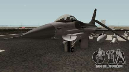 F-16C Fighting Falcon HQ para GTA San Andreas