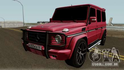 Mercedes-Benz G55 AMG High Quality para GTA San Andreas