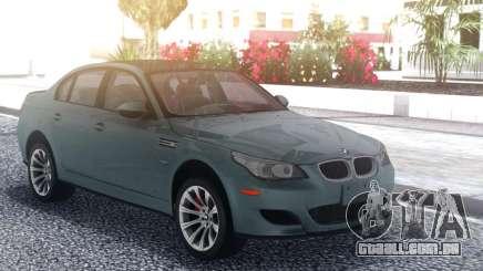 BMW M5 E60 Grey para GTA San Andreas