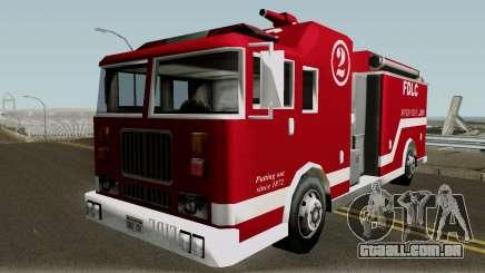 New Firetruck para GTA San Andreas