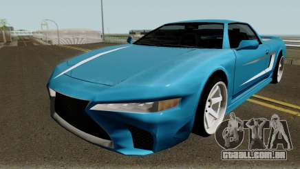 BlueRay Infernus LS500-F para GTA San Andreas