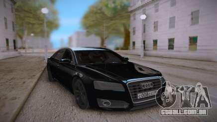 Audi S8L 2015 Black para GTA San Andreas