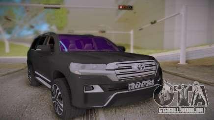 Toyota Land Cruiser 200 Tuning para GTA San Andreas