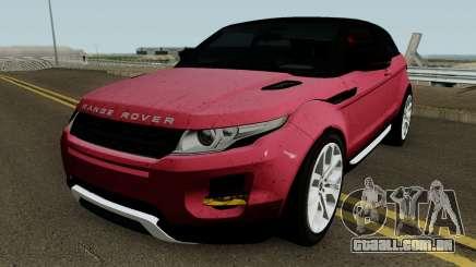 Land Rover 2015 para GTA San Andreas