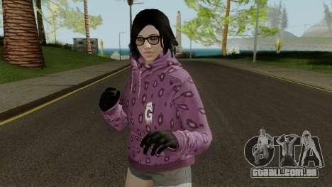 Skin DLC After Hours Female para GTA San Andreas