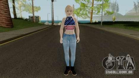 Misaki Casual para GTA San Andreas