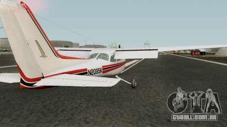 Cessna 172 Skyhawk (Updated) para GTA San Andreas
