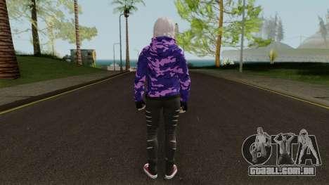 Luna Casual Style para GTA San Andreas