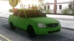 Lada Priora Green para GTA San Andreas