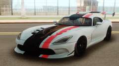 Dodge Viper DRAG-GTA para GTA San Andreas