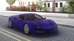 Ferrari 488 Pista 2019 new para GTA San Andreas