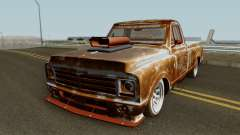 Chevrolet C-10 Custom Pickup Beater 1967 para GTA San Andreas