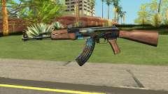 AK-47 Case Hardened para GTA San Andreas