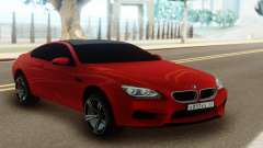 BMW M6 Red Coupe para GTA San Andreas