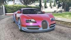 Bugatti Veyron Super Sport 2010 v2.0 [replace] para GTA 5