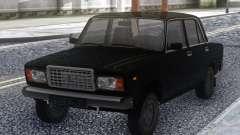 VAZ 2107 Preto Estoque para GTA San Andreas