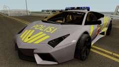 Lamborghini Reventon Polres Indonesia para GTA San Andreas
