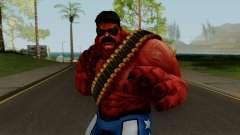 MFF Red Hulk USA Avengers para GTA San Andreas