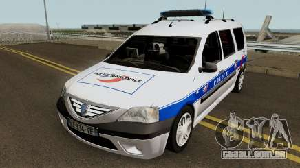 Dacia Logan MCV - Police Nationale 2004 para GTA San Andreas