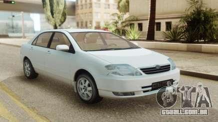 Toyota Corolla Sedan 2001 para GTA San Andreas