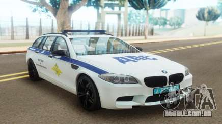 BMW M5 F11 Police para GTA San Andreas