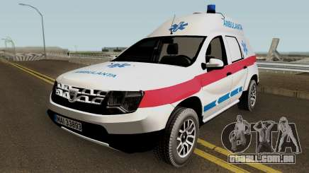 Dacia Duster Ambulanta 2018 para GTA San Andreas