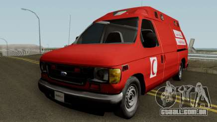 Ford E-150 Ambulan Moroccain para GTA San Andreas