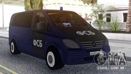 Mercedes Benz Vito FSB para GTA San Andreas