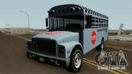 Vapid School Bus Los Angeles v1.0 GTA V para GTA San Andreas