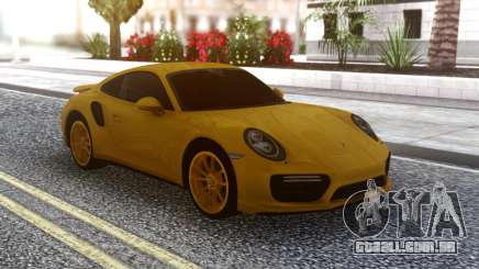 Porsche 911 Yellow para GTA San Andreas
