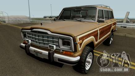 Jeep Grand Wagoneer 1986 para GTA San Andreas
