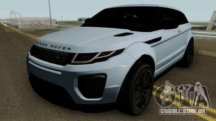 Land Rover Range Rover Evoque HQ para GTA San Andreas