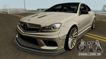 Mercedes Benz C63 AMG Coupe Liberty Walk 2014 para GTA San Andreas