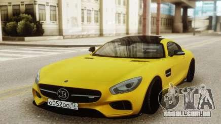 Brabus 700 Coupe para GTA San Andreas