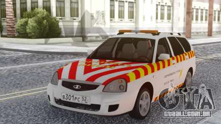 Lada Priora Escolta de mercadorias perigosas para GTA San Andreas
