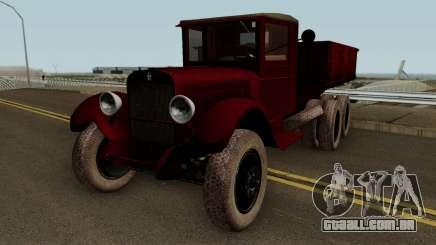 O ZIS-6, DE 1934 A FIV para GTA San Andreas