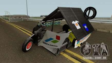 Vespa Extreme Sampahan V2 para GTA San Andreas