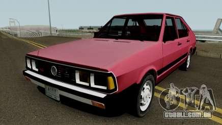 Volkswagen Passat Pointer LSE Iraque 1984 V2 para GTA San Andreas