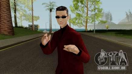 Wu Zi Mu - Red Suit para GTA San Andreas