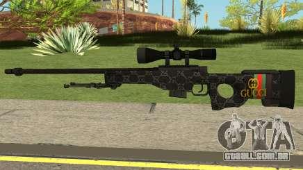 Sniper Rifle Gucci para GTA San Andreas
