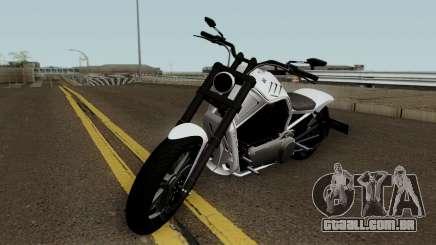 Western Motorcycle Nightblade GTA V para GTA San Andreas
