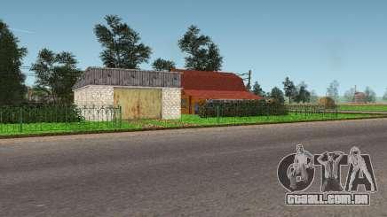 Aeroporto e a grama mod para GTA San Andreas