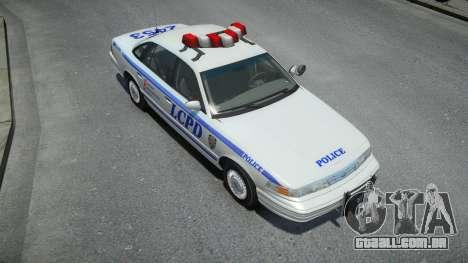 Ford Crown Victoria LCPD 1995 para GTA 4