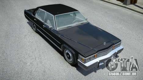 Cadillac Fleetwood Brougham 1978 para GTA 4