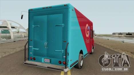 Brute Boxville GTA V para GTA San Andreas