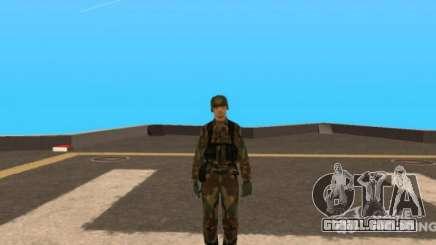 New Army Skin para GTA San Andreas