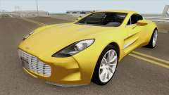 Aston Martin One-77 HQ para GTA San Andreas
